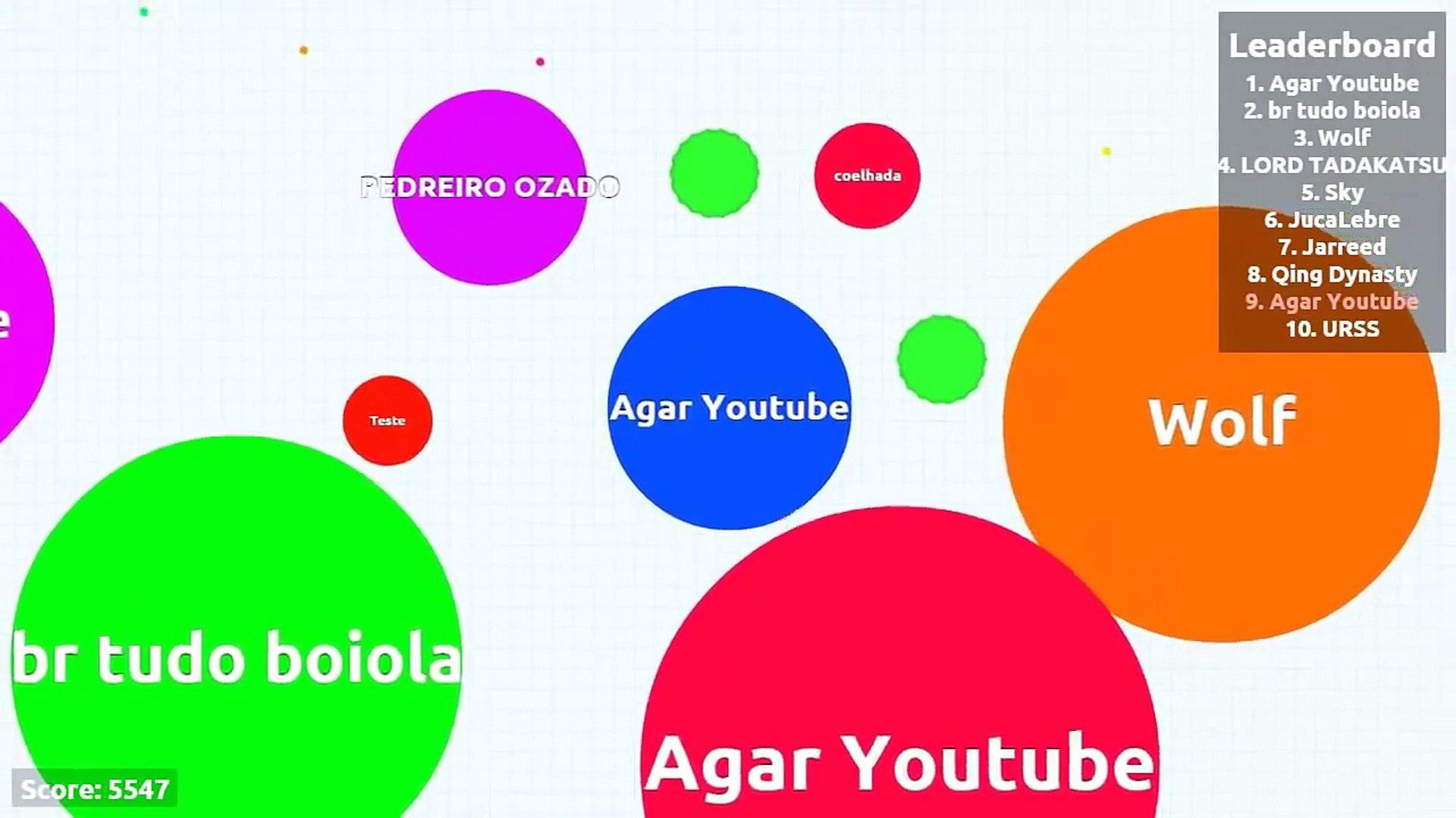 Agar.io Supporting Friend Gameplay Highest Score 10 000 / Агарио новый рекорд 10 000