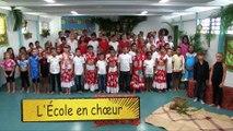 École en chœur Académie de La Réunion- École élémentaire Francis Rivière L'Étang salé