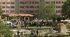 Gaziantep'te Emniyet Müdürlüğü Önünde Büyük Patlama! 1 Polis Şehit 13 Yaralı