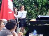Concert ♪ 25/06/11 - Concert au Cheval Blanc (Ainsi sois-je, Mylène Farmer)