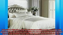 The Best  Soft Silker Luxury Silk Sheets Sets 100 Mulberry Silk SeamlessQueen With Duvet Cover