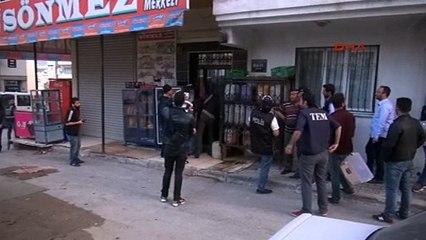 İzmir'de 1 Mayıs operasyonu 4 gözaltı