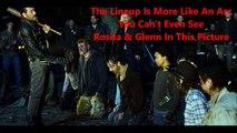 The Walking Dead Negan Does Negan Kill Glenn Or Daryl Walking Dead Season 6 Episode 16 Neg