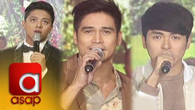 ASAP: Piolo, Daniel, & Yohan serenade Bb. Pilipinas 2016 winners