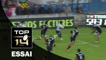 TOP 14 – Agen– Brive: 37-19 Essai de Filipo NAKOSI (AGE) – J22 - Saison 2015-2016
