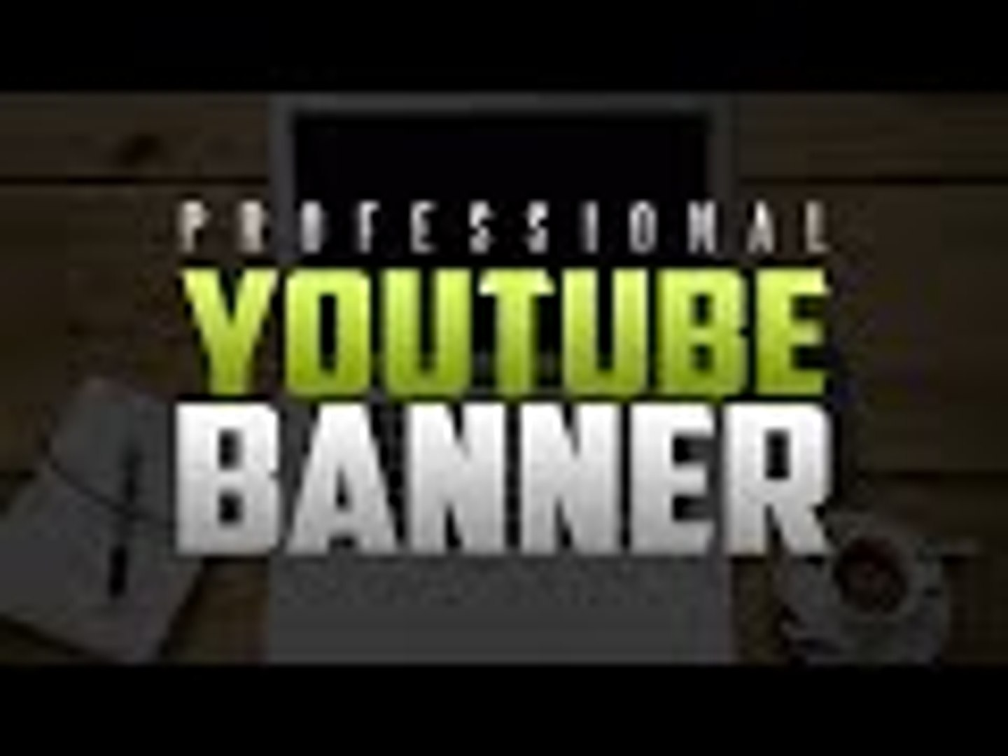 How to Make A Simple Professional YouTube Channel Banner/Art For FREE! (2015/2016)