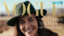 Kate Middleton lands British Vogue cover