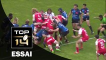 TOP 14 – Montpellier – Grenoble: 51-10 Essai de Arnaud HEGUY (GRE) – J22 – Saison 2015-2016
