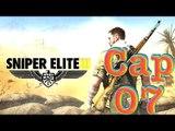 Capitulo 7 de Sniper Elite 3 Campo de aviación pont du fahs, Español gameplay