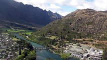 New Zealand - Helicopter Ride From Skipper Canyon to Queenstown Airport 24 February 2012 - #3