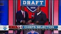 2016 NFL Draft Rd 3 Pk 74 Kansas City Chiefs Select CB KeiVarae Russell