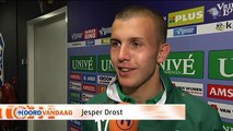 FC Groningen doet tot op de laatste speeldag mee om play-offs - RTV Noord