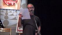 """Lukas Markov à """"La couleur des mots - poésie"""" - 2016-04-30 - BBAM! Gallery / galerie bbam"""