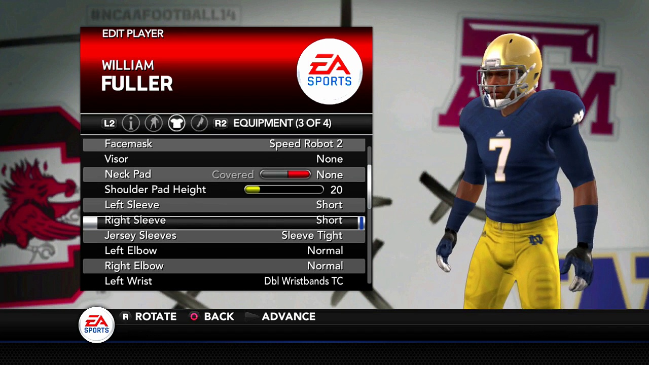 NFL Draft 2016 Round 1 results Houston Texans William Fuller Madden NFL 16