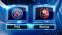PSG Paris Saint-Germain 4 - 0 Rennes, Tous les buts et r_sum_, Ligue 1 2016