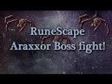 RuneScape Araxxor boss fight