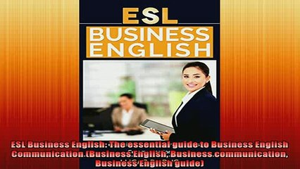 FAVORIT BOOK   ESL Business English The essential guide to Business English Communication Business  FREE BOOOK ONLINE