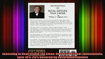 READ book  Investing in Real Estate Tax Liens Recession Proof Investments Earn 1025 Secured by Full EBook