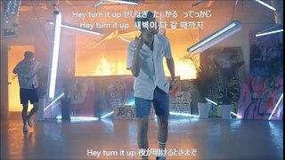 BTS 불타오르네 FIRE 【歌詞+ルビ+日本語字�