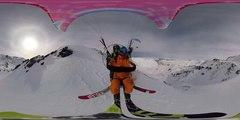 DAHU 360° freeride, speedride & paraglide in Val Thorens