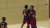 FCB Futbol Sala: Andreu Plaza hace balance de la temporada del Barça B