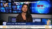 """Appoline de Malherbe lâche un """"Et Merde... va te faire foutre"""" sur BFM TV"""