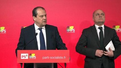 Revivez l'intégralité de la conférence de presse de JC Cambadélis et Bruno Le Roux