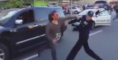 Ukraine : Un ancien champion olympique de lutte se bat dans la rue avec plusieurs policiers (vidéo)