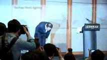 Intoxications en Corée du Sud: le dirigeant giflé et hué