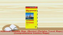 PDF Download Myanmar Country Map Burma Periplus Travel Maps