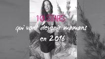 People : 10 stars qui vont devenir mamans en 2016