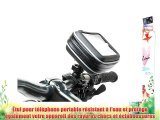 DURAGADGET support vélo pour Samsung Galaxy S II Google Nexus S SCLCD B2710 Solid Immerse Wave
