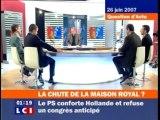 Julien Dray - le Tout Sauf Ségolène - (25/06/07)