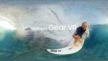 Samsung Camera 360 Gear VR Surfing in Sea Waves Get Barreled in Tahiti 2016