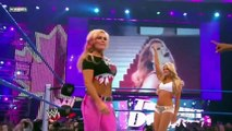Michelle McCool and Layla vs. Natalya and Kelly Kelly