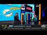 Miami Dolphins draft Laremy Tunsil in the 1st Round of the 2016 NFL Draft