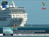 Arriba a Cuba crucero turístico de EE.UU.; es el primero en 50 años
