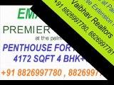 Hot Deal 4BHK+SQ Penthouse Premier Terraces Golf Course Extension Road, Gurgaon +91 8826997780