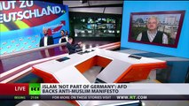 Islam not part of Germany: German right-wing AfD party adopts anti-Islamic manifesto