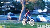 Funniest Bait Bike Prank Gone Wrong - YesFunnyYes