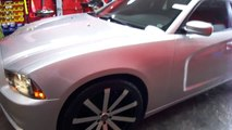 HILLYARD CUSTOM RIM&TIRE 2014 DODGE CHARGER 22 INCH RIMS AND TIRES CUSTOM