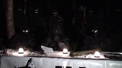 VIDEO. Le FLNC du 22 octobre annonce sa démilitarisation