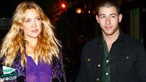 Kate Hudson and Nick Jonas Flirt During Late-Night Dinner in NYC