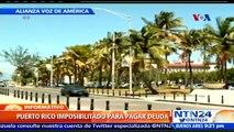 Tras entrar en moratoria de pago, Puerto Rico solicita ayuda a Estados Unidos para enfrentar la crisis