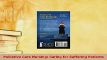 PDF  Palliative Care Nursing Caring for Suffering Patients Free Books