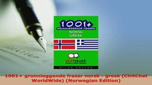 PDF  1001 grunnleggende fraser norsk  gresk ChitChat WorldWide Norwegian Edition Download Full Ebook