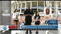Raiders Draft Party in Mexico City Pick 143 - DeAndre Washington (RB) 2016 NFL Draft