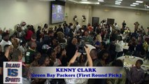 FOOTBALL - Green Bay Packers DT Kenny Clark Interview from NFL Draft Party