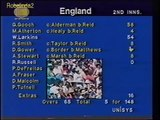 Worst collapse in cricket, 4147 then 150 all out! Guess whic