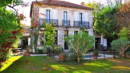 AIX-EN-PROVENCE centre ville - Vente deux Bastides - 280 m² sur jardin paysager avec Piscine